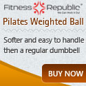 Pilates Weighted Ball 6 lb
