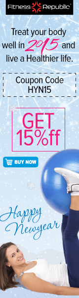 New Year 15% OFF on entire Fitness Store