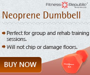 Neoprene Dumbbells 8lb
