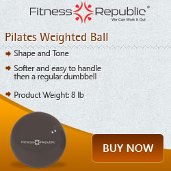 Pilates Weighted Ball 8 lb