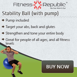 Stability Ball with Pump