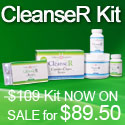 Cleanser-Kit Rejuvenate your body naturally Increase energy and your metabolism Eliminate accumulated toxins.