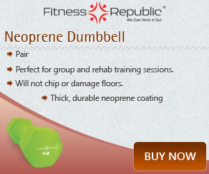 Neoprene Dumbbells 3lb