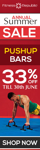 Summer SALE - Enjoy 33% Off on Pushup Bars till 30th June