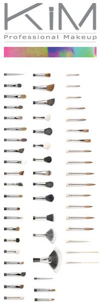 KIM Brushes Logo and brushes