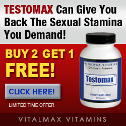 Testomax Testosterone Supplement Helps You Feel Get Back The Stamina You Need! Buy 2 Get 1 Free!