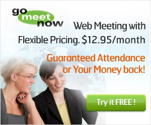 Web Conferencing with incremental pricing