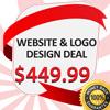 WEBSITE & LOGO DESIGN DEAL,$449.99