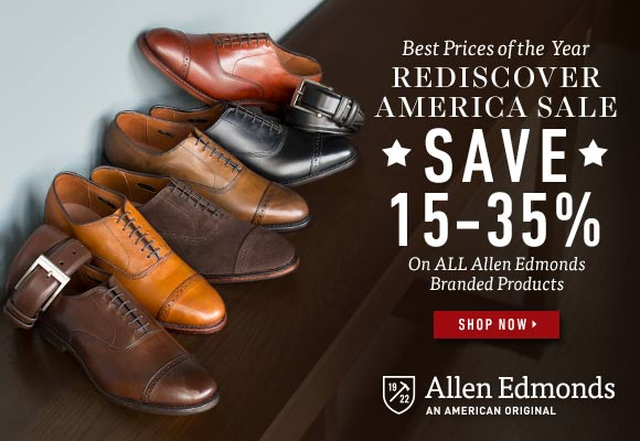 Allen Edmonds RDA Sale