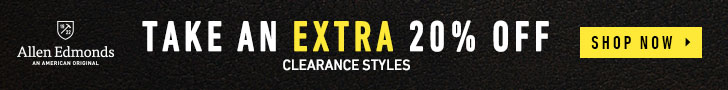 Extra 20% Off All Clearance Styles