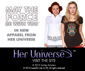 Her Universe - Flaunt your world.