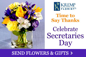 Celebrate Secretaries Day - Send Flowers & Gifts