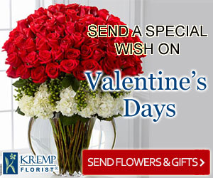 Send a special wish on Valentine's Days
