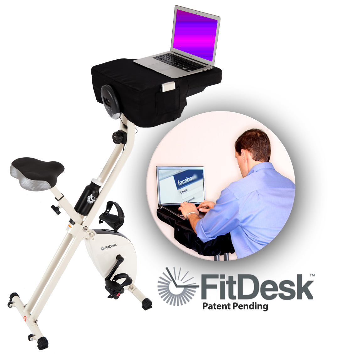 Facebook Fitness with a FitDesk