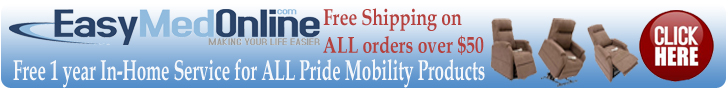 EasyMedOnline Pride Mobility