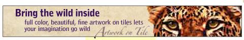Artwork On Tile