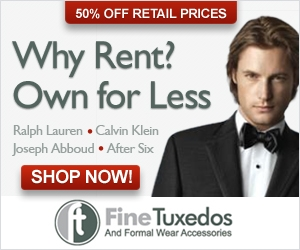 FineTuxedos.com Coupon Codes