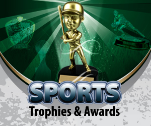 Sports Themed Trophies & Awards
