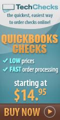 Quickbooks Checks at 50% off
