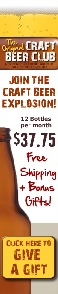 CraftBeerClub.com-America's Best Micro Brew Beers Delivered Monthly - 120x600 banner