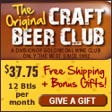 CraftBeerClub.com-America's Best Micro Brew Beers Delivered Monthly - 125x125 banner