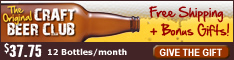 CraftBeerClub.com-America's Best Micro Brew Beers Delivered Monthly - 234x60 banner