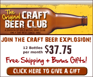 CraftBeerClub.com-America's Best Micro Brew Beers Delivered Monthly - 300x250 banner