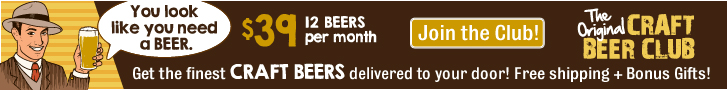CraftBeerClub.com-The Finest Craft Beers from America's Best Micro Breweries- 728x90 banner