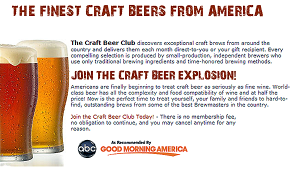 Join The Craft Beer Club Rise