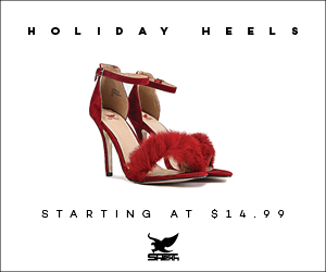 $14.99 Holiday Heels Promo