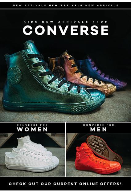 Converse New Arrivals