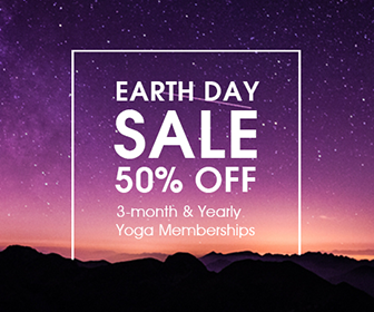 Yoga Download Earth Day Sale