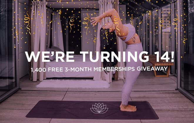 yoga download giveaway