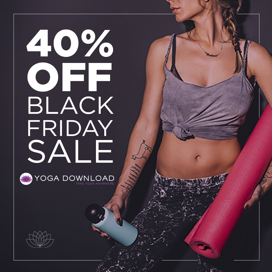 Yoga Download Black Friday Cyber Monday
