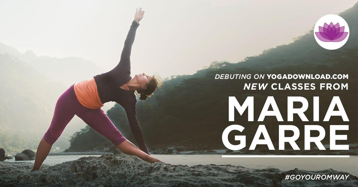Maria Garre yoga teacher