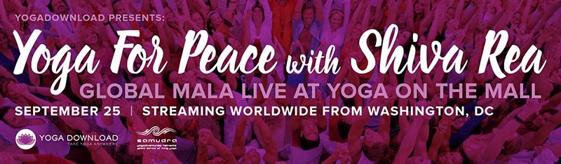 Yoga for Peace with Shiva Rea