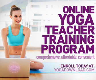 Become a certified yoga teacher, ONLINE!