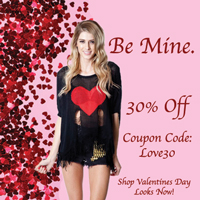 30% off sale - Feb!