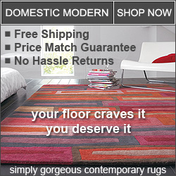modern rugs for everyday living
