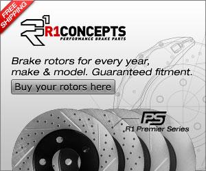 R1 Concepts Performance Brake Rotors