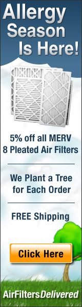 It's Allergy Season, Buy Your Air Filters Now!