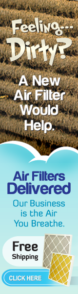 Feeling Dirty? A New Air Filter Would Help!