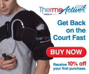 ThermoActive, compression therapy, shoulder injury