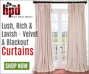 Lush, Rich & Lavish - Velvet & Blackout Curtains