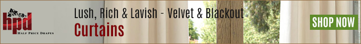 Lush, Rich & Lavish - Velvet & Blackout Curtains