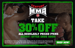 Century MMA Take 30% Off