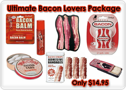 funny bacon gifts
