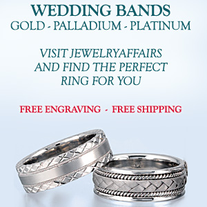 Visit JewelryAffairs and find a large variety of Wedding Bands