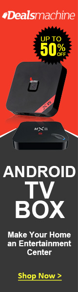 Android TV Box: Up to 50% OFF at Dealsmachine!