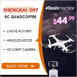DealsMachine - Shengkai D97 quadcopter_dealsmachine